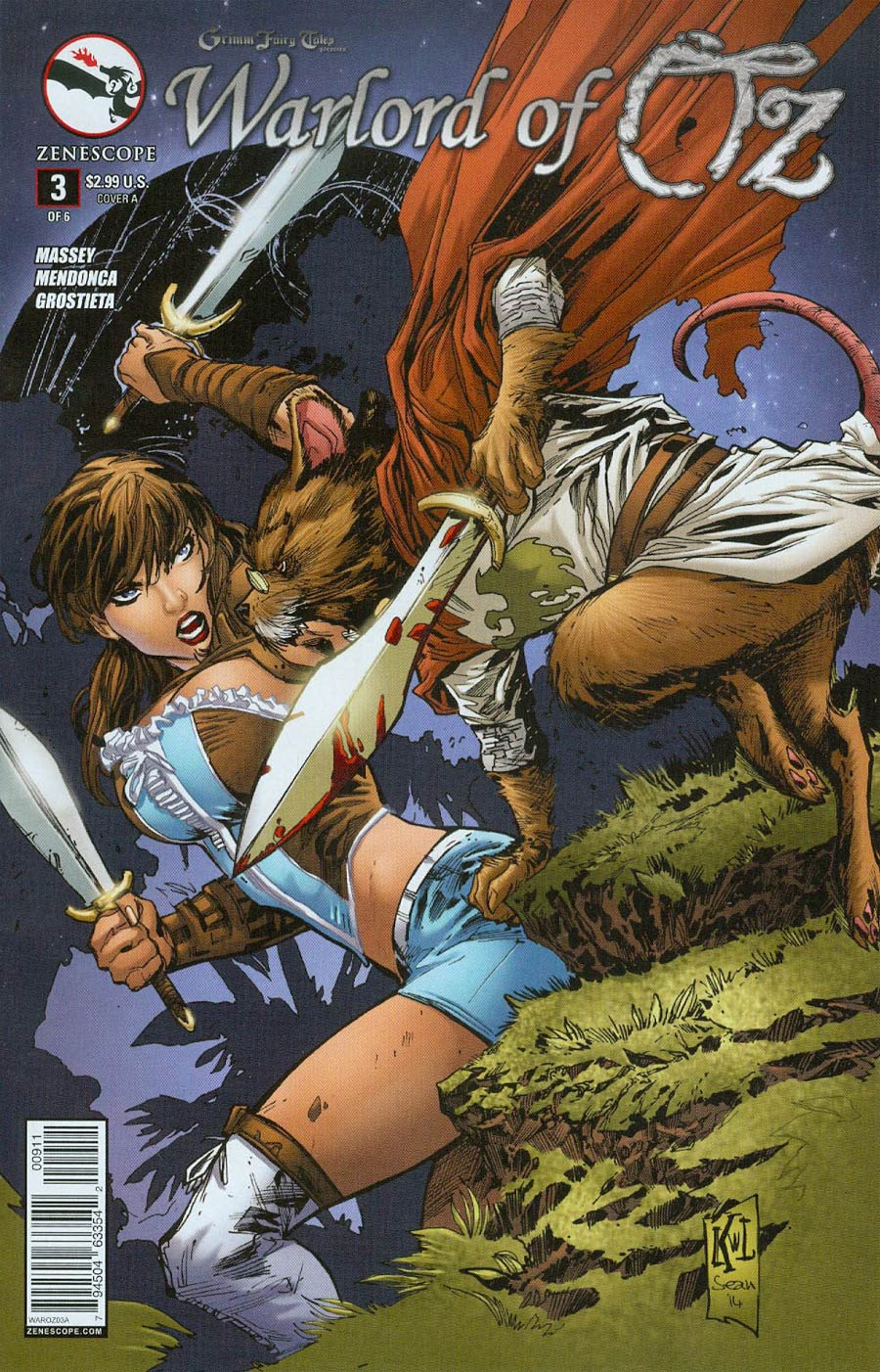 Grimm Fairy Tales Presents Warlord Of Oz #3 Cover A Ken Lashley