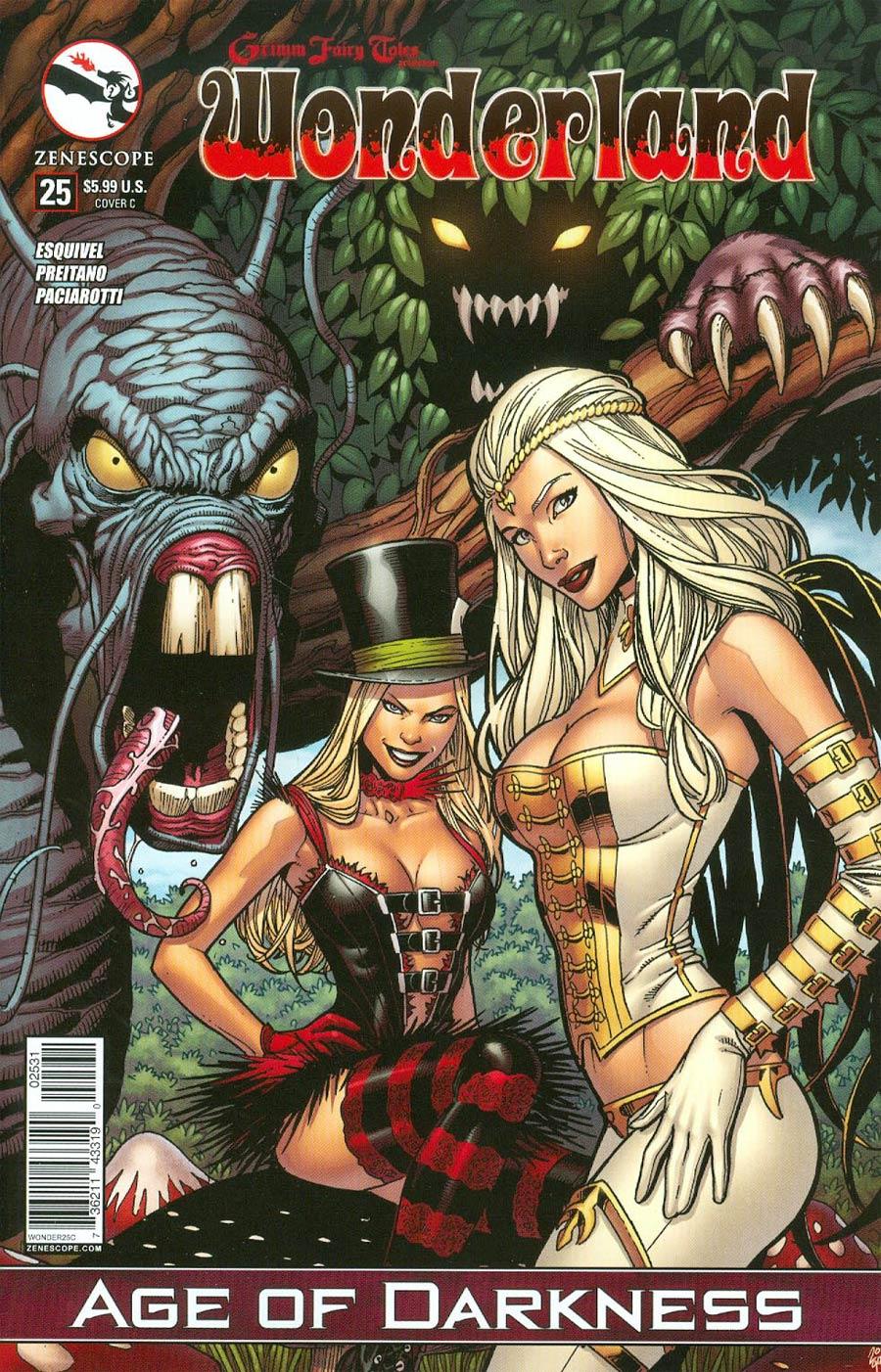 Grimm Fairy Tales Presents Wonderland Vol 2 #25 Cover C Sean Chen