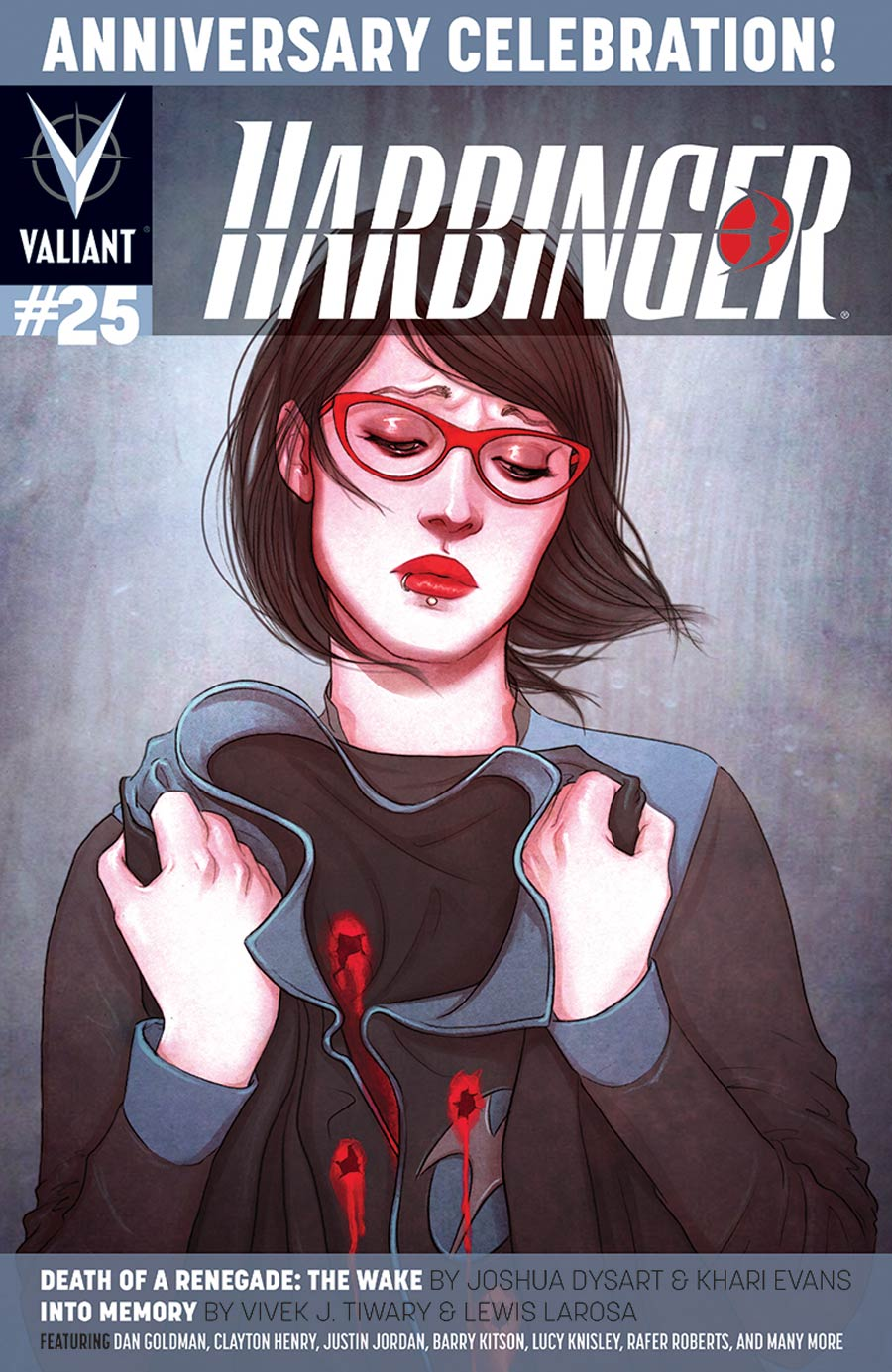 Harbinger Vol 2 #25 Cover B Variant Jenny Frison Cover