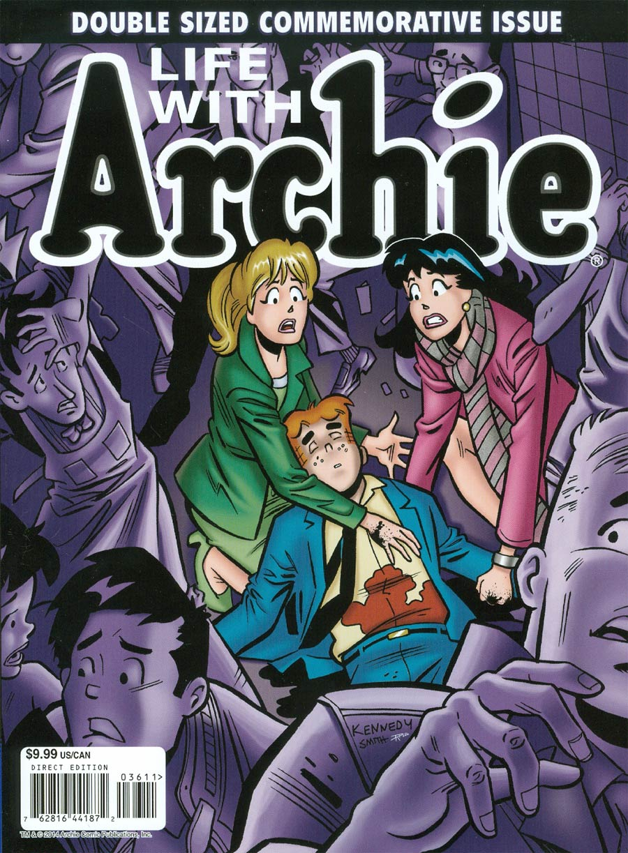 Life With Archie Vol 2 #36 Cover A 1st Ptg Magazine Format (Also includes #37)
