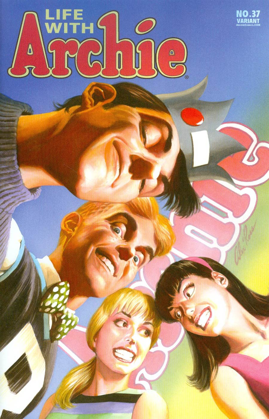 Life With Archie Vol 2 #37 Cover C Comic Format Alex Ross Cover