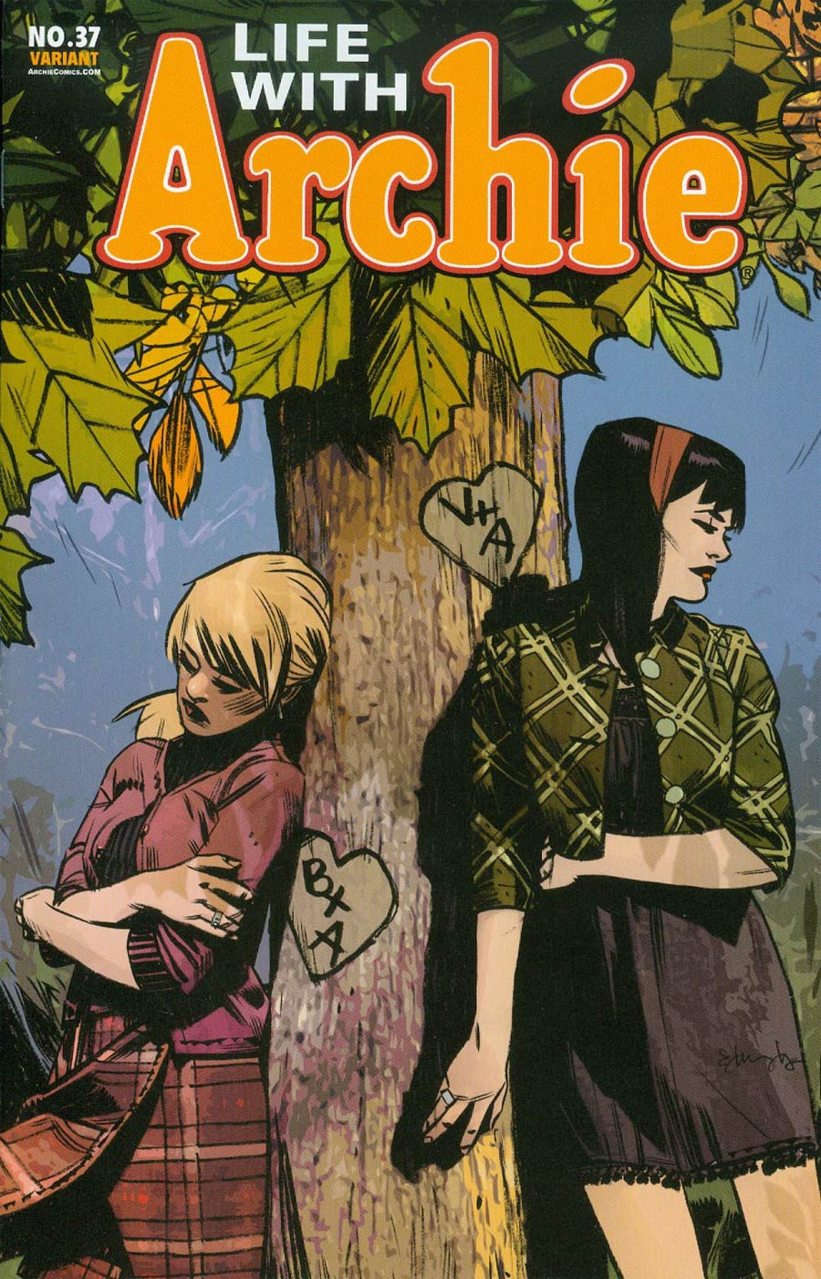 Life With Archie Vol 2 #37 Cover B Comic Format Tommy Lee Edwards Cover