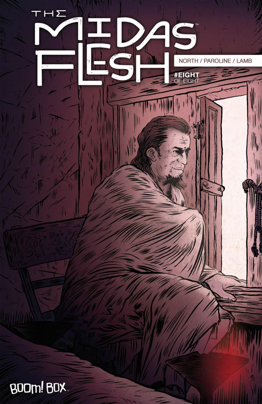 Midas Flesh #8 Cover A Regular John Keogh Cover
