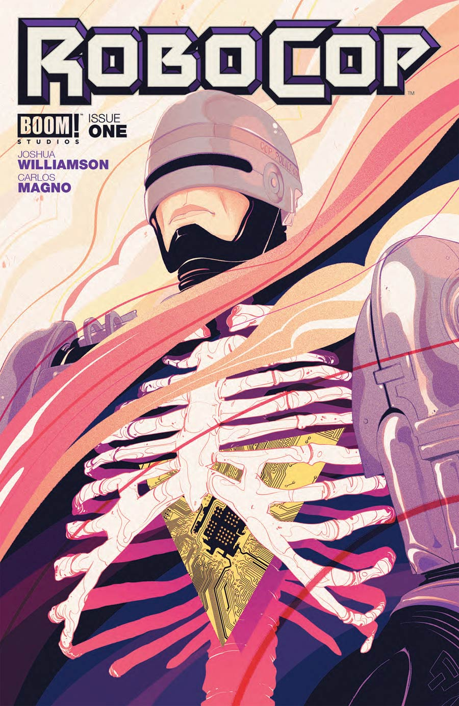 Robocop 2014 #1 Cover A Regular Goni Montes Cover