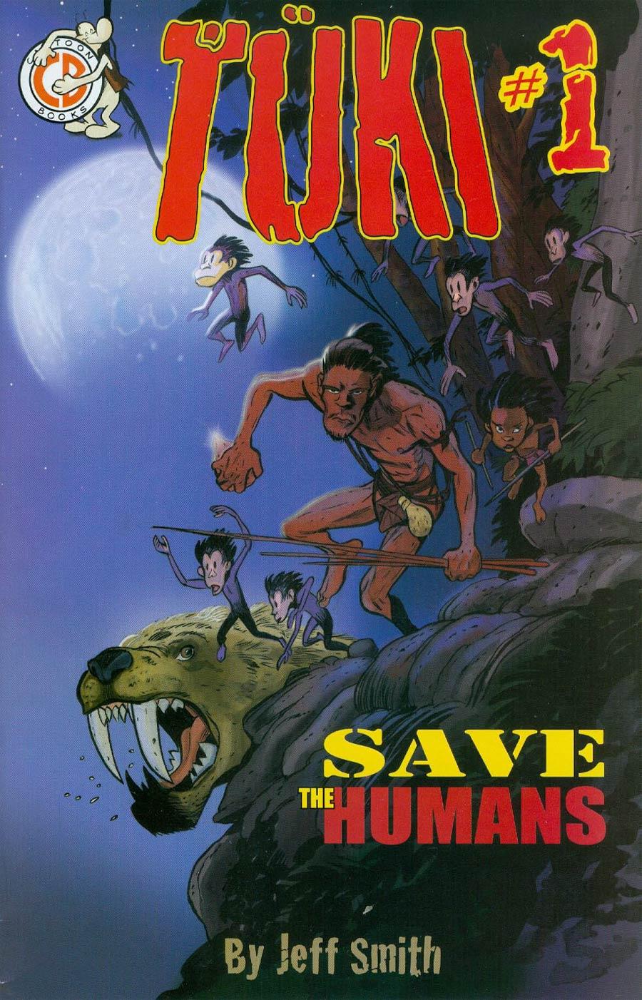 Tuki Save The Humans #1 Cover A 1st Ptg