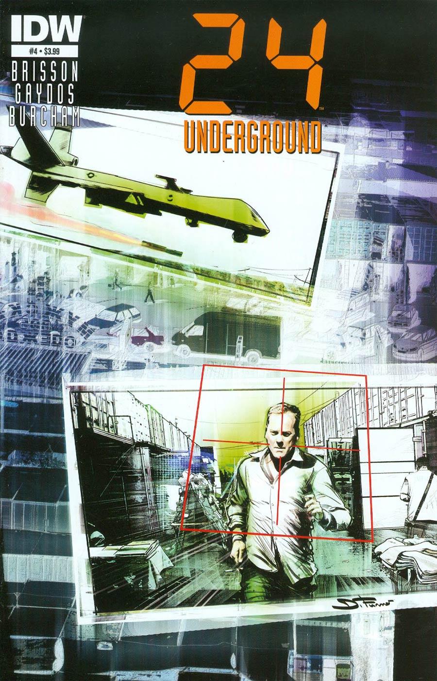 24 Underground #4 Cover A Regular Davide Furno Cover