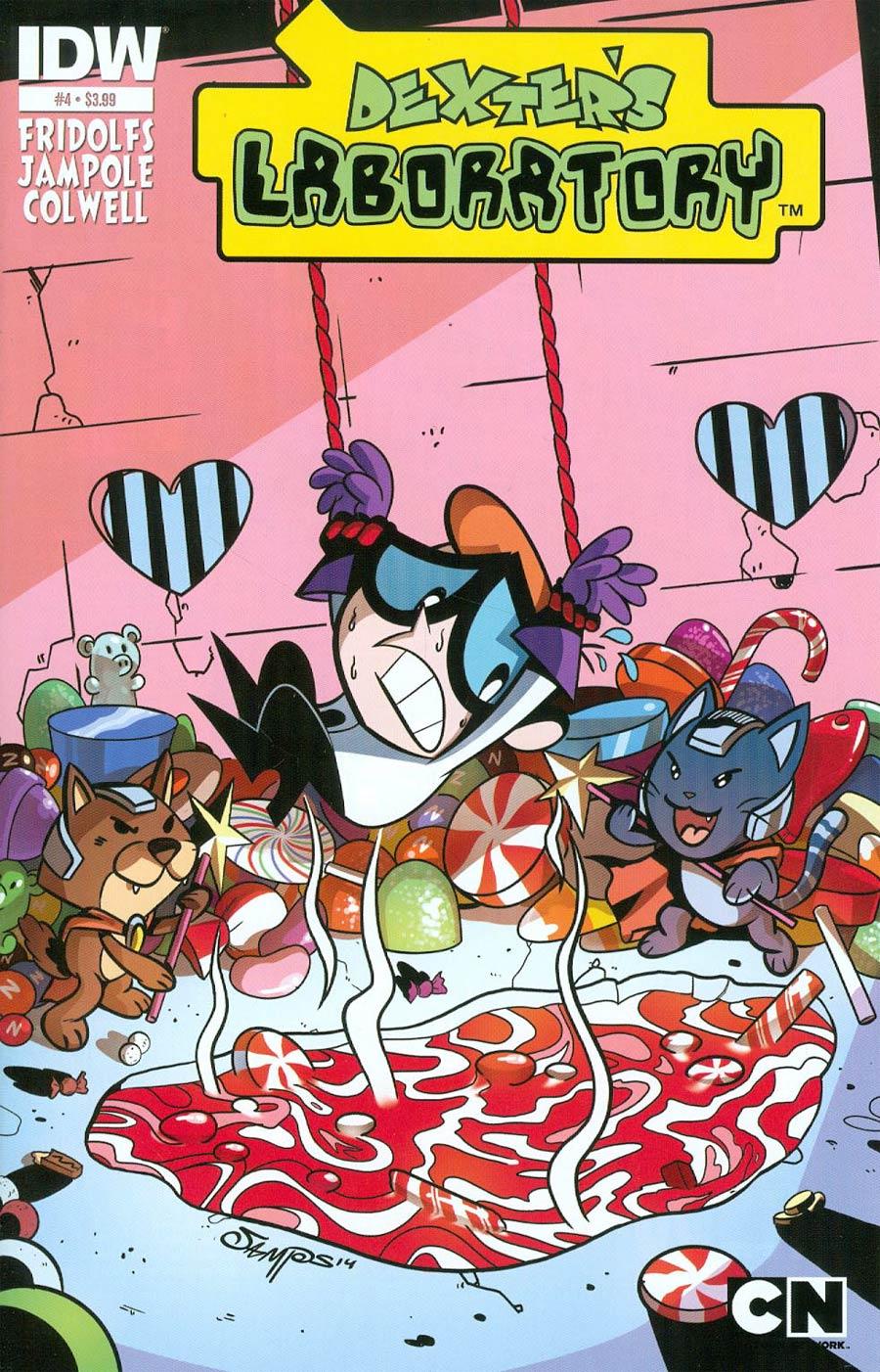 Dexters Laboratory Vol 2 #4 Cover A Regular Ryan Jampole Cover