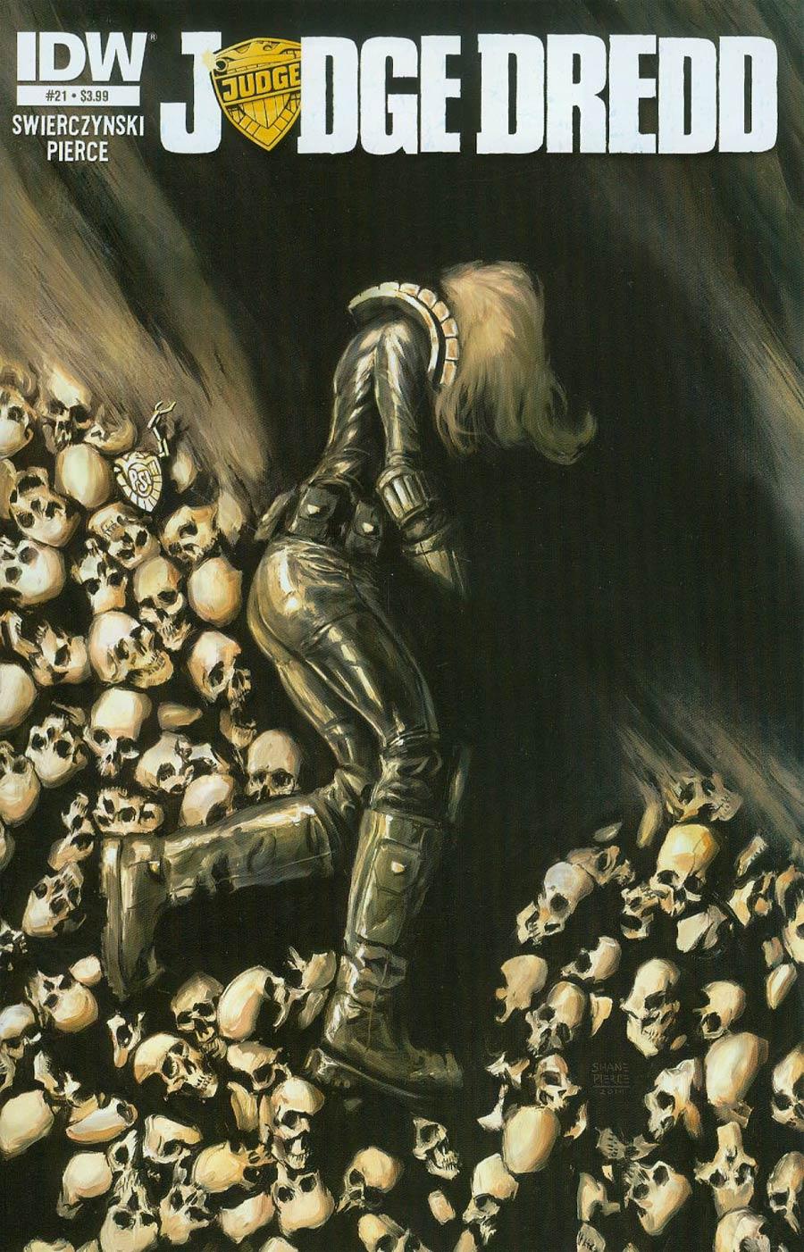 Judge Dredd Vol 4 #21 Cover A Regular Shane Pierce Cover