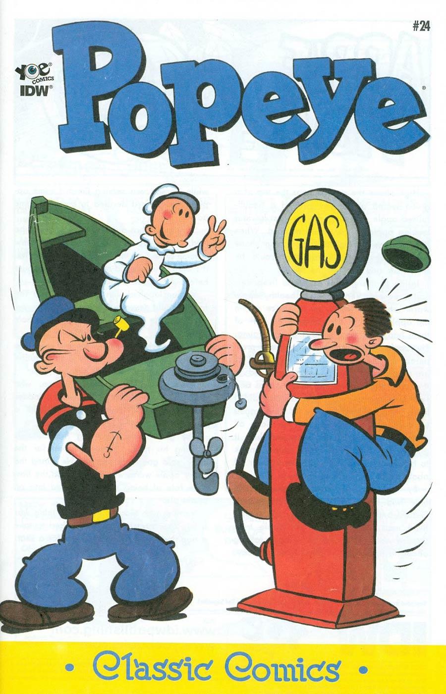 Classic Popeye #24 Cover A Regular Bud Sagendorf Cover