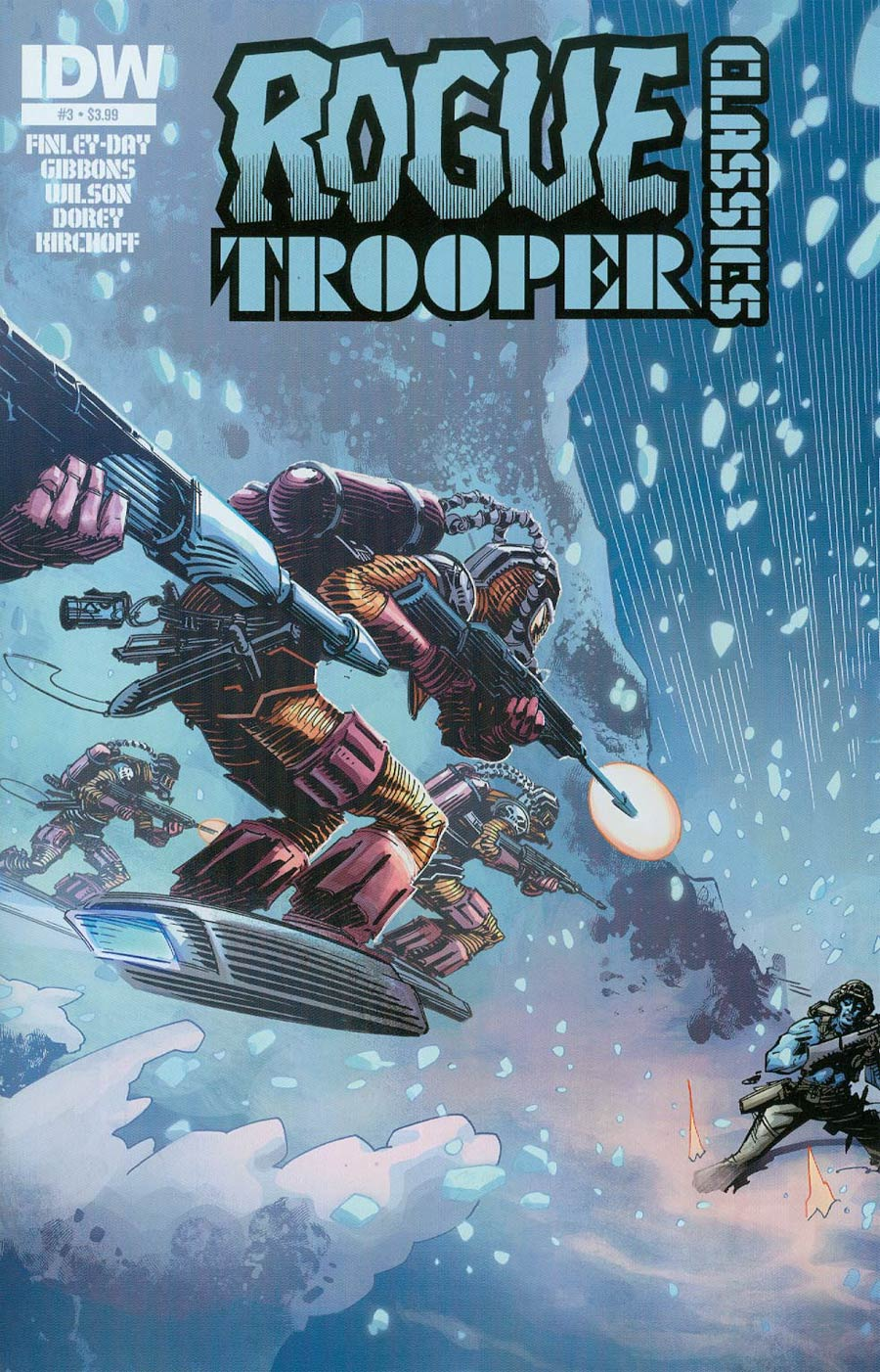 Rogue Trooper Classics #3 Cover A Regular John McCrea Cover