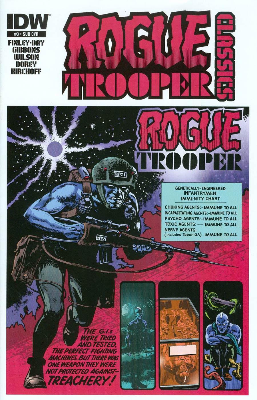 Rogue Trooper Classics #3 Cover B Variant Mike Dorey Subscription Cover