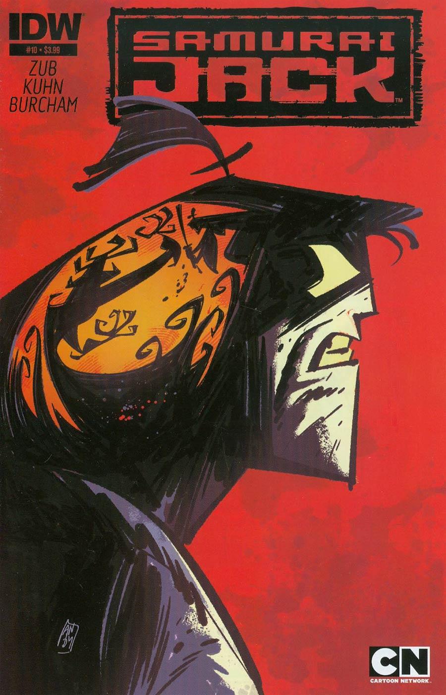 Samurai Jack #10 Cover A Regular Andy Suriano Cover