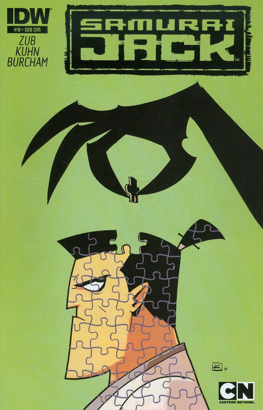 Samurai Jack #10 Cover B Variant Andy Kuhn Subscription Cover