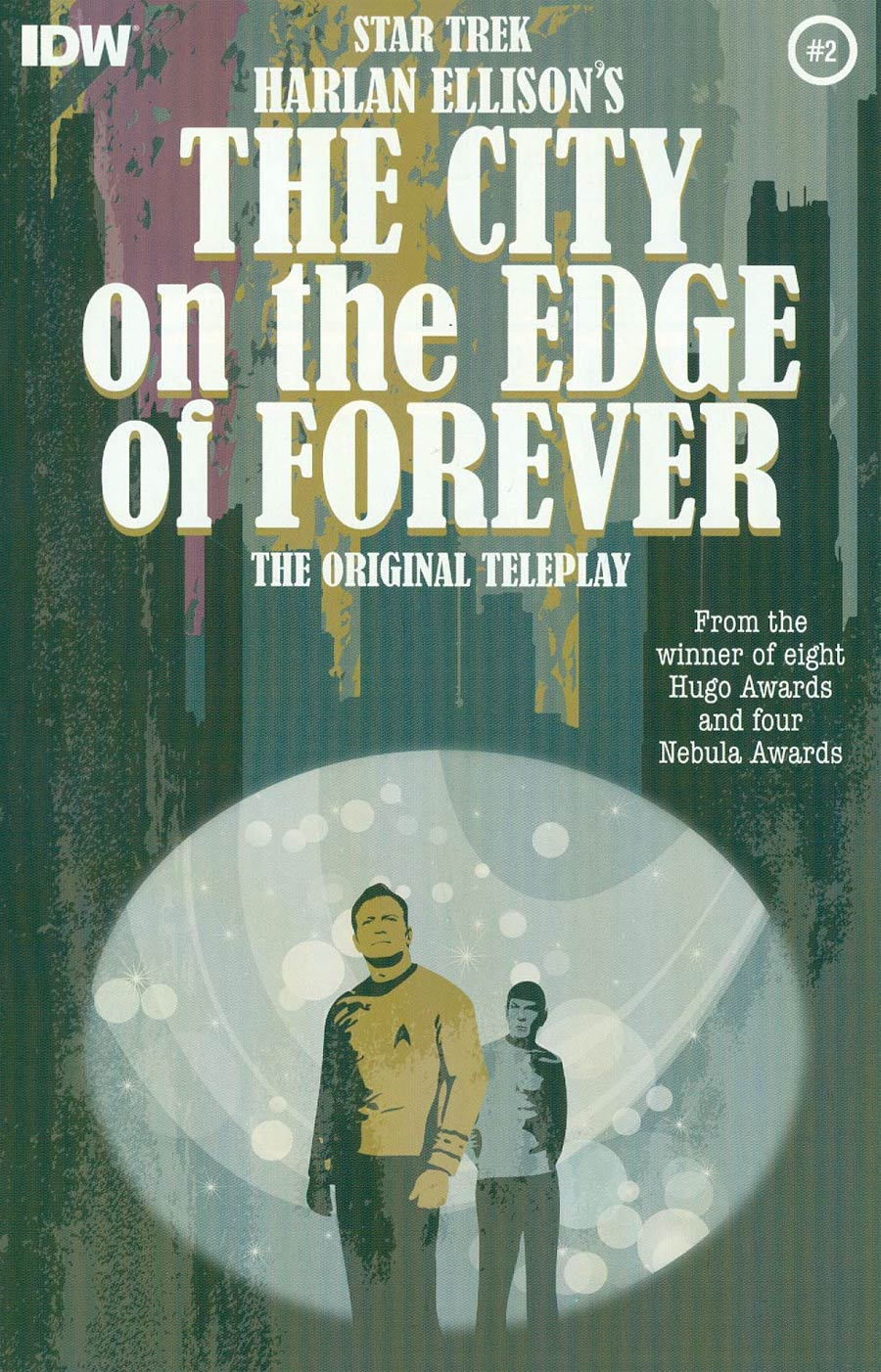 Star Trek Harlan Ellisons City On The Edge Of Forever Original Teleplay #2 Cover A 1st Ptg Regular Juan Ortiz Cover