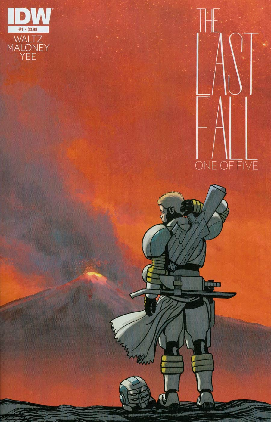 Last Fall #1 Cover A 1st Ptg Regular Casey Maloney Cover
