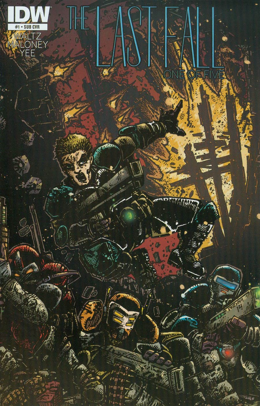 Last Fall #1 Cover B Variant Kevin Eastman Subscription Cover