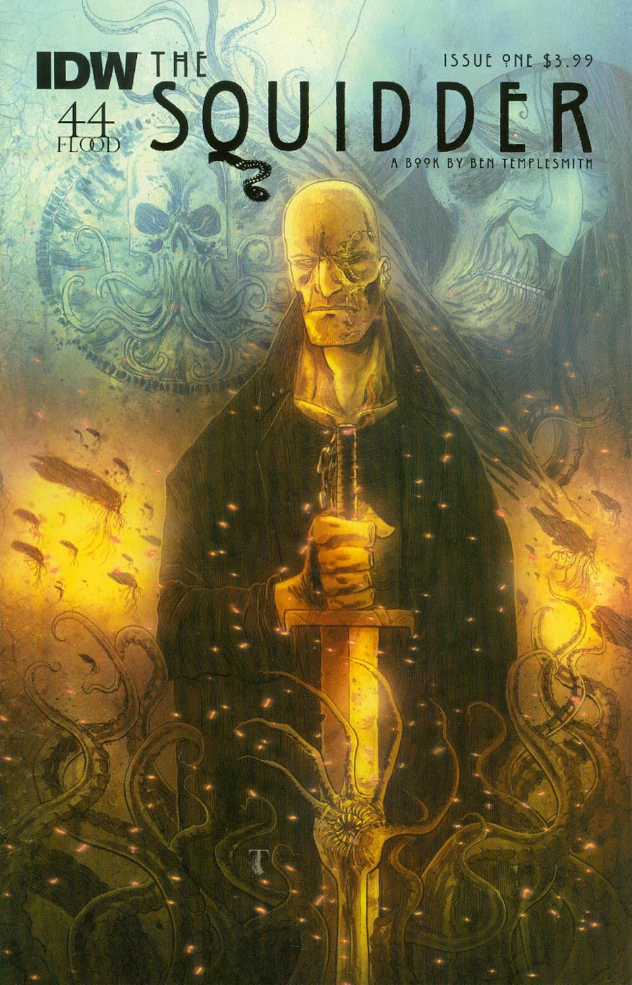 Squidder #1 Cover A 1st Ptg Regular Ben Templesmith Cover