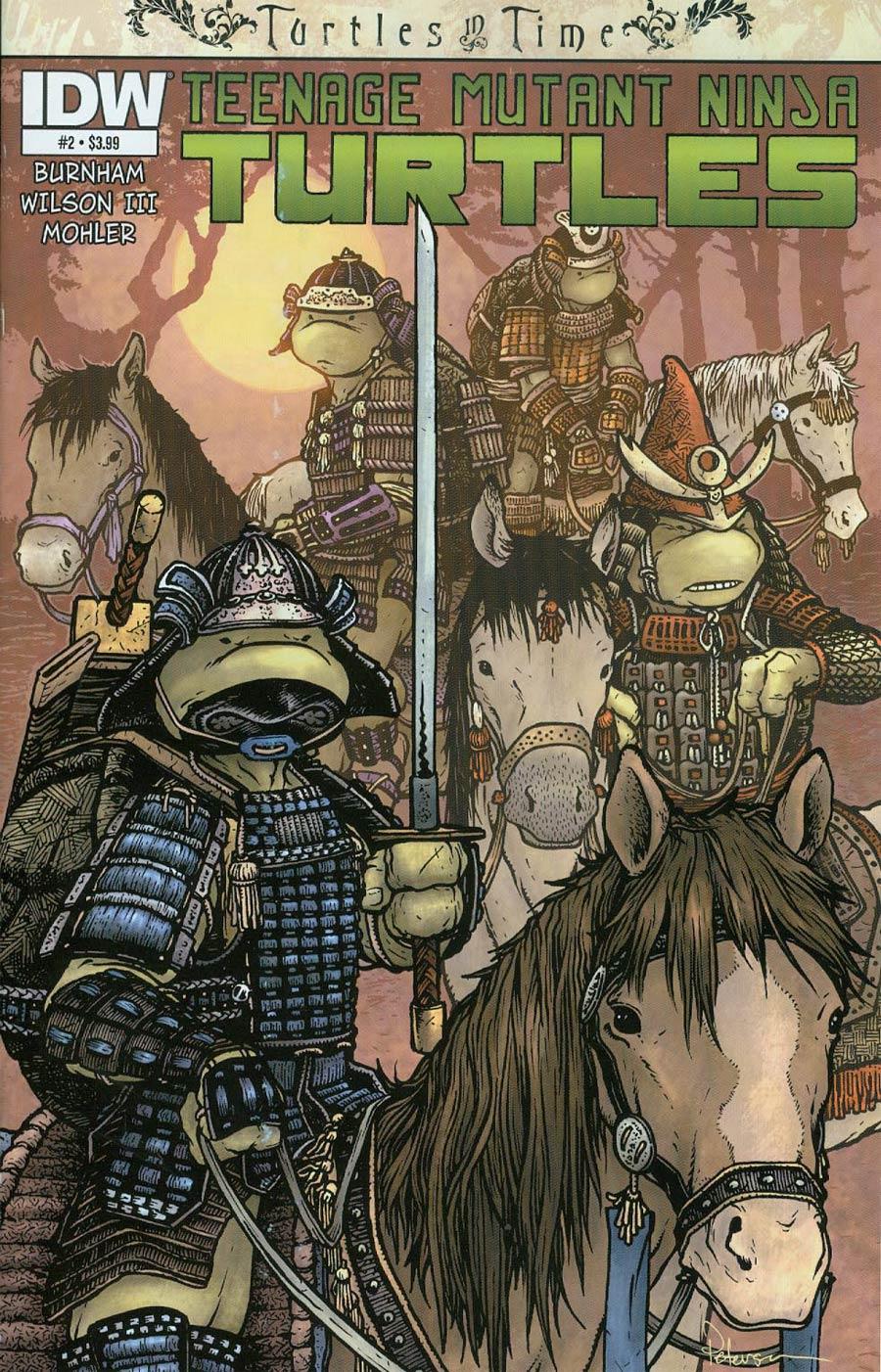 Teenage Mutant Ninja Turtles Turtles In Time #2 Cover A Regular David Petersen Cover