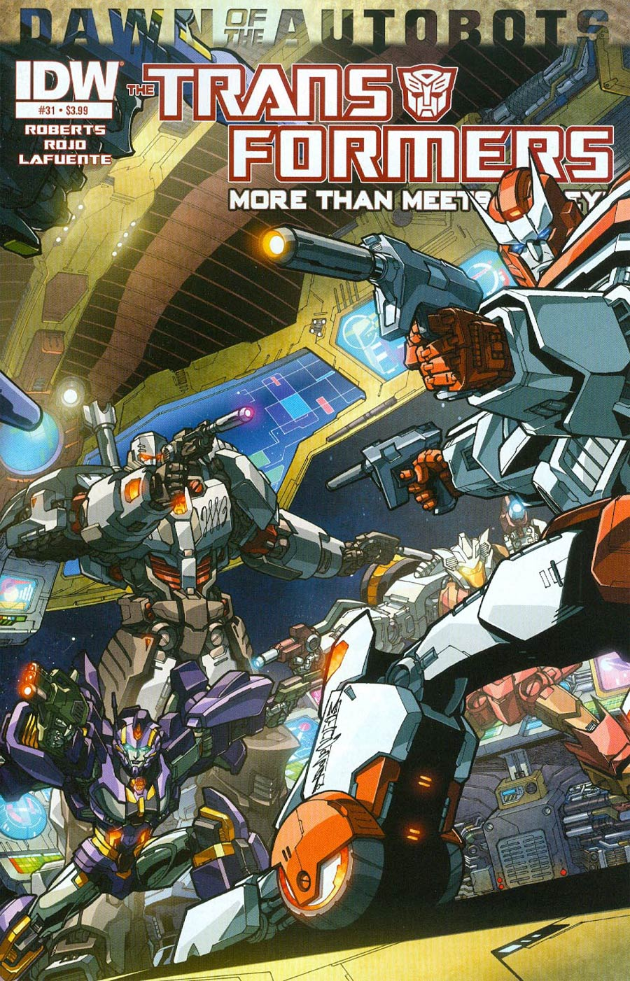 Transformers More Than Meets The Eye #31 Cover A Regular Alex Milne Cover (Dawn Of The Autobots Tie-In)