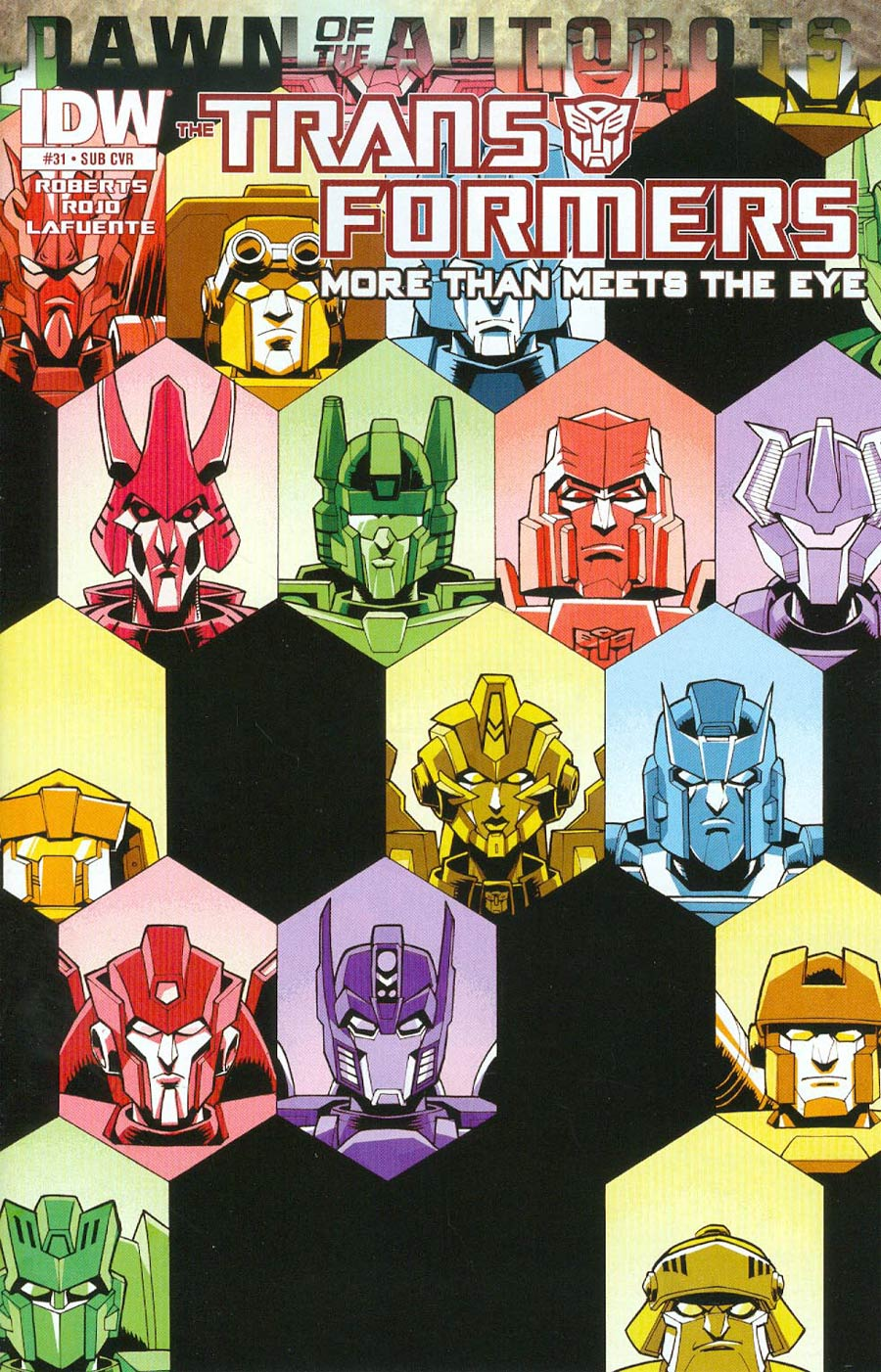 Transformers More Than Meets The Eye #31 Cover B Variant Nick Roche Subscription Cover (Dawn Of The Autobots Tie-In)