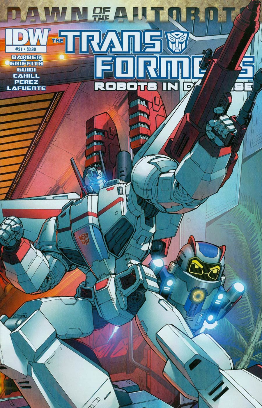 Transformers Robots In Disguise #31 Cover A Regular Andrew Griffith Cover (Dawn Of The Autobots Tie-In)