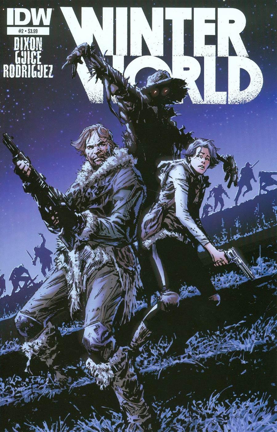 Winterworld Vol 2 #2 Cover A Regular Butch Guice Cover