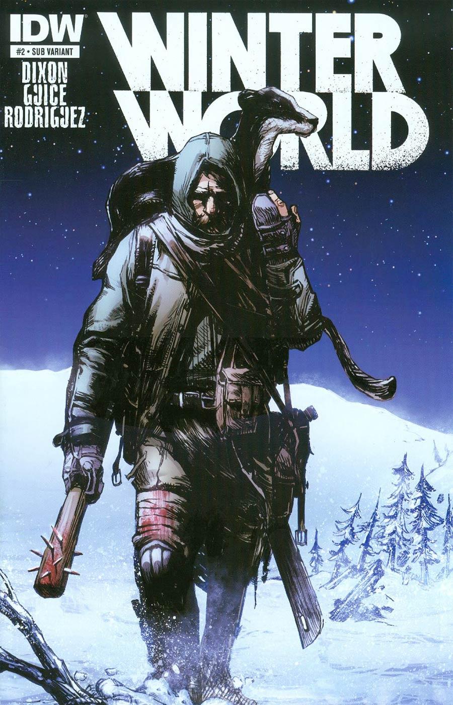 Winterworld Vol 2 #2 Cover B Variant Gerardo Zaffino Subscription Cover