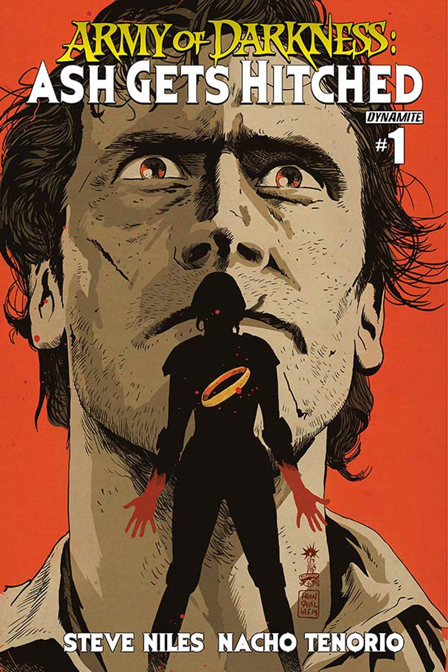 Army Of Darkness Ash Gets Hitched #1 Cover C Variant Francesco Francavilla Cover