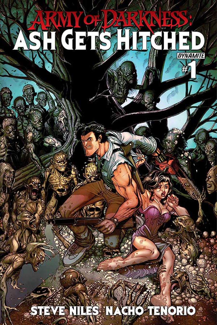 Army Of Darkness Ash Gets Hitched #1 Cover D Variant Nick Bradshaw Cover