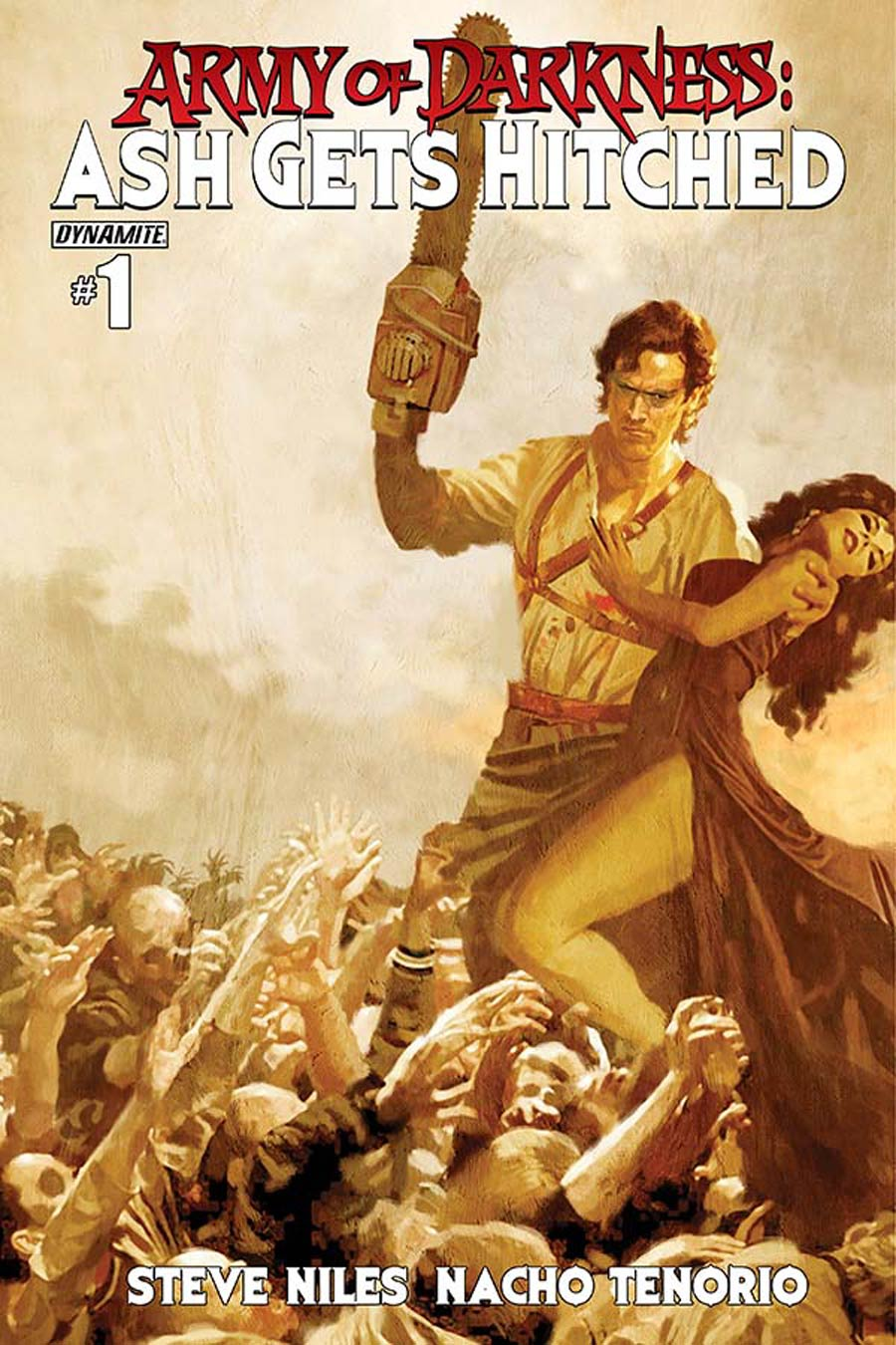 Army Of Darkness Ash Gets Hitched #1 Cover E Variant Arthur Suydam Cover