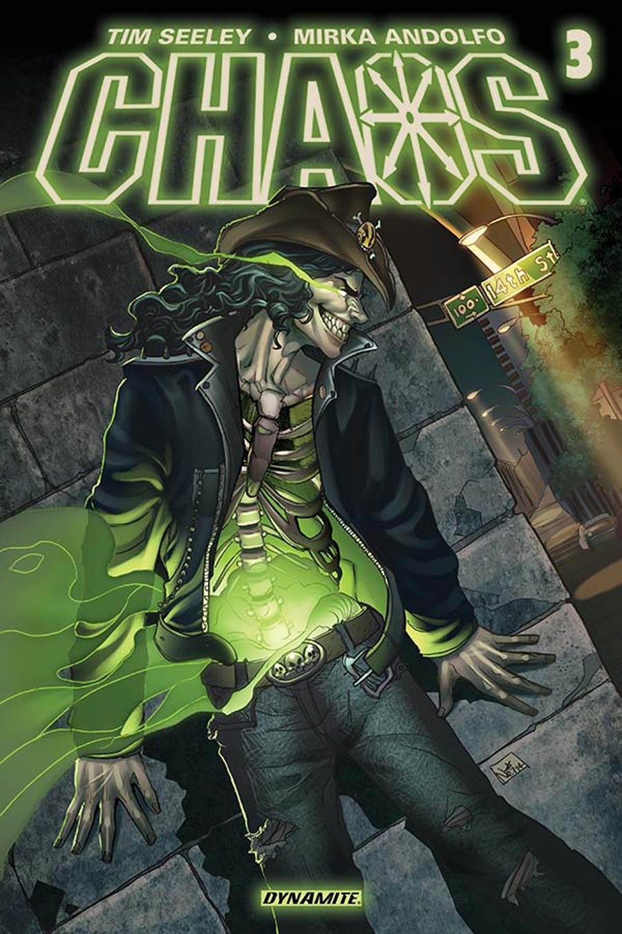 Chaos #3 Cover C Variant Nei Ruffino Cover