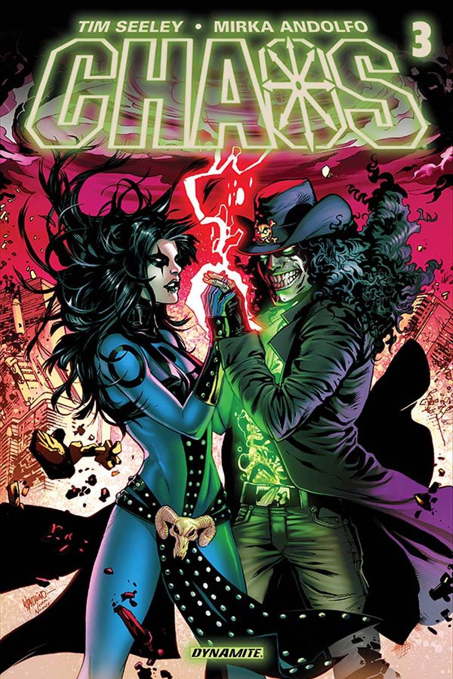 Chaos #3 Cover A Regular Emanuela Lupacchino Cover