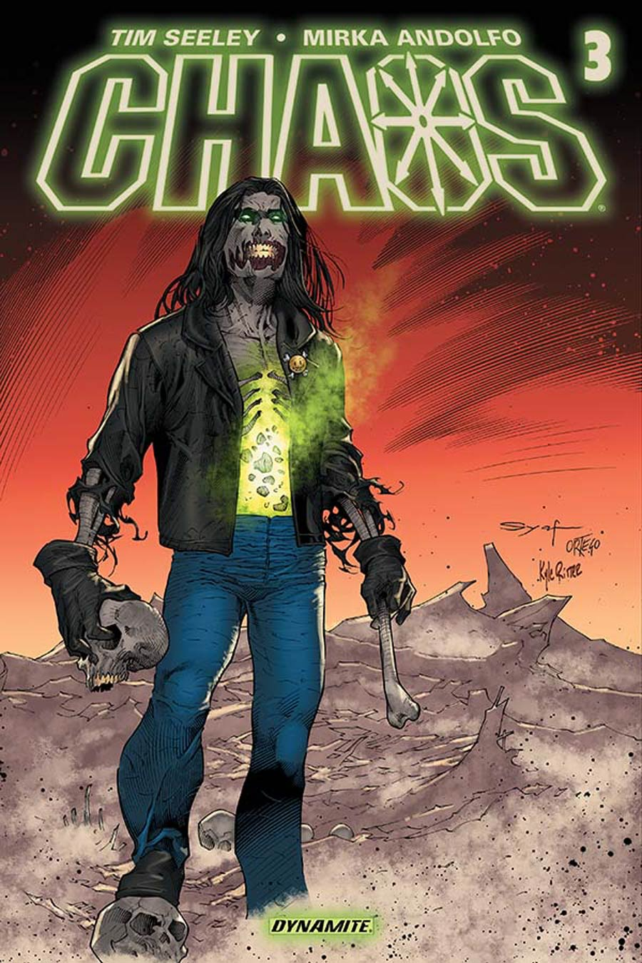 Chaos #3 Cover D Variant Ardian Syaf Subscription Cover
