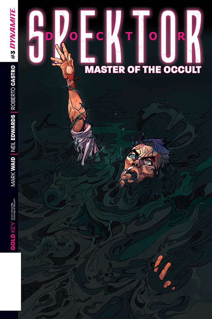 Doctor Spektor Master Of The Occult #3 Cover A Regular Christian Ward Cover