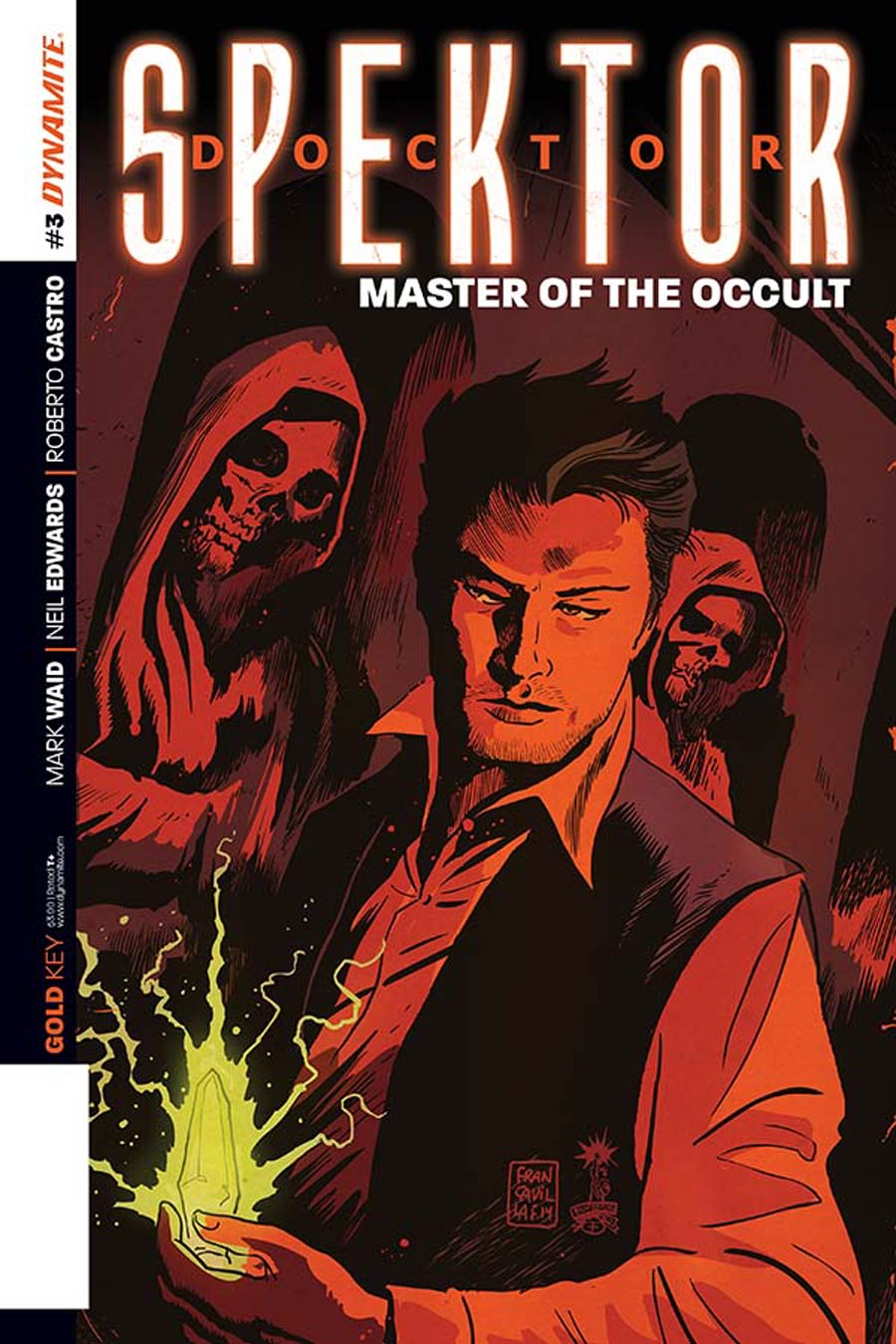 Doctor Spektor Master Of The Occult #3 Cover B Variant Francesco Francavilla Subscription Cover