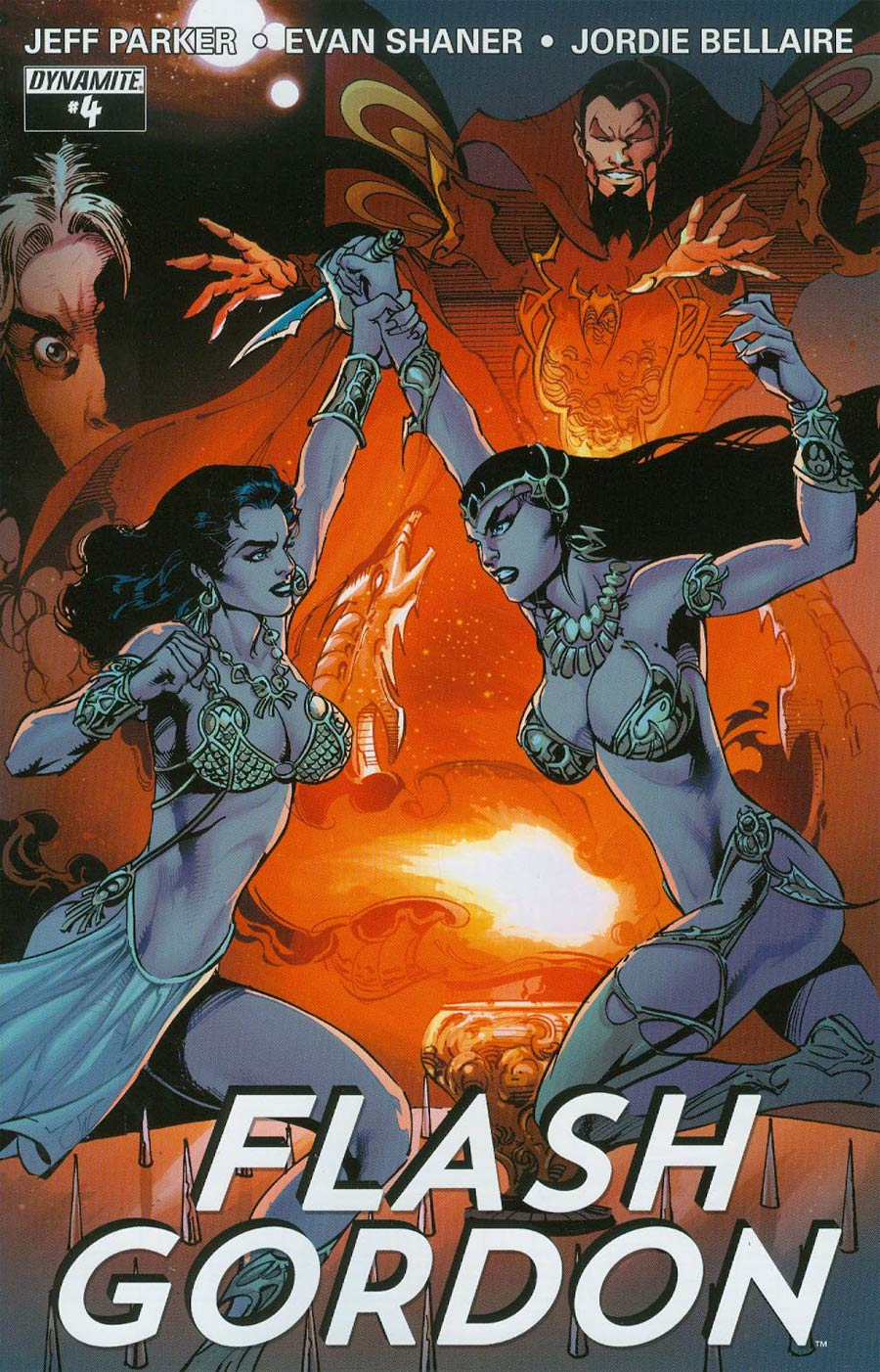 Flash Gordon Vol 7 #4 Cover C Variant Roberto Castro 80th Anniversary Cover