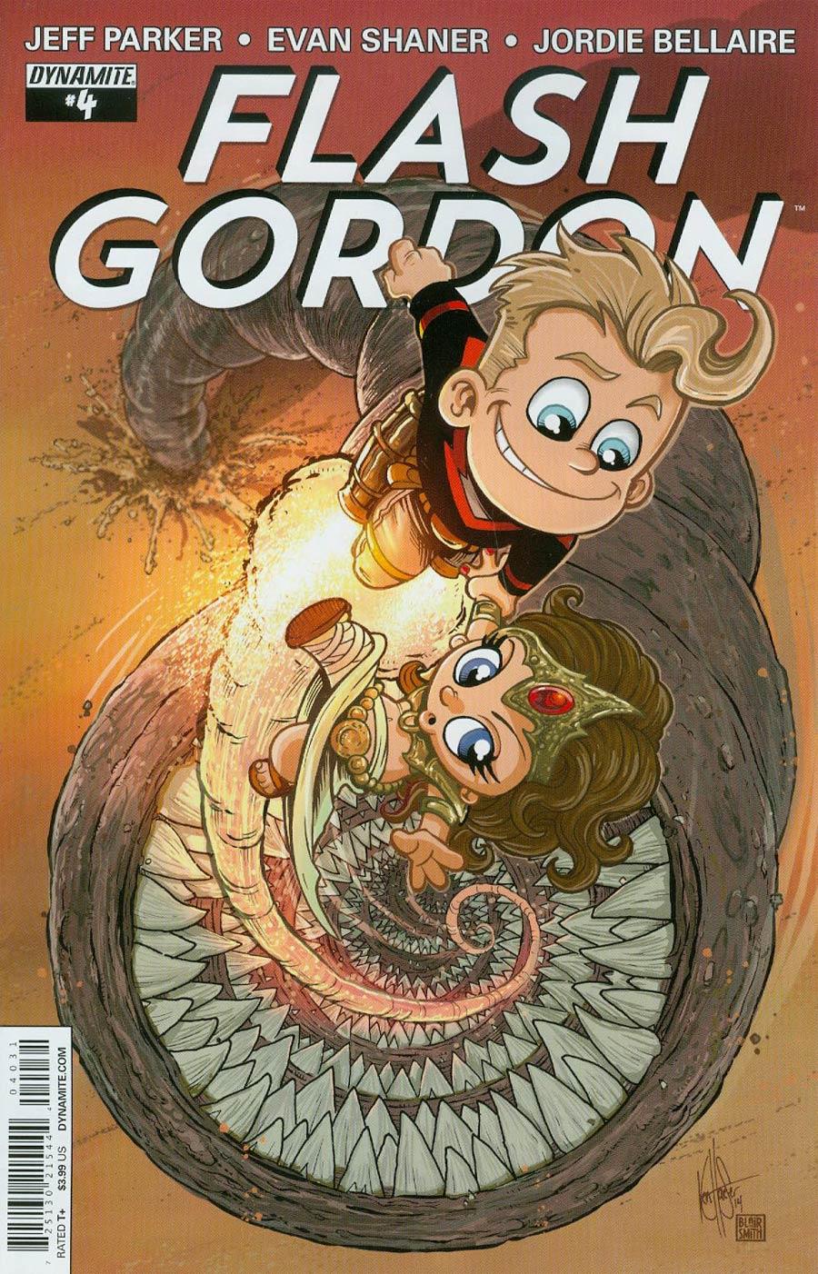 Flash Gordon Vol 7 #4 Cover B Variant Ken Haeser Cute Subscription Cover