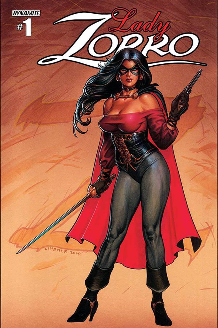 Lady Zorro #1 Cover A Regular Joseph Michael Linser Cover
