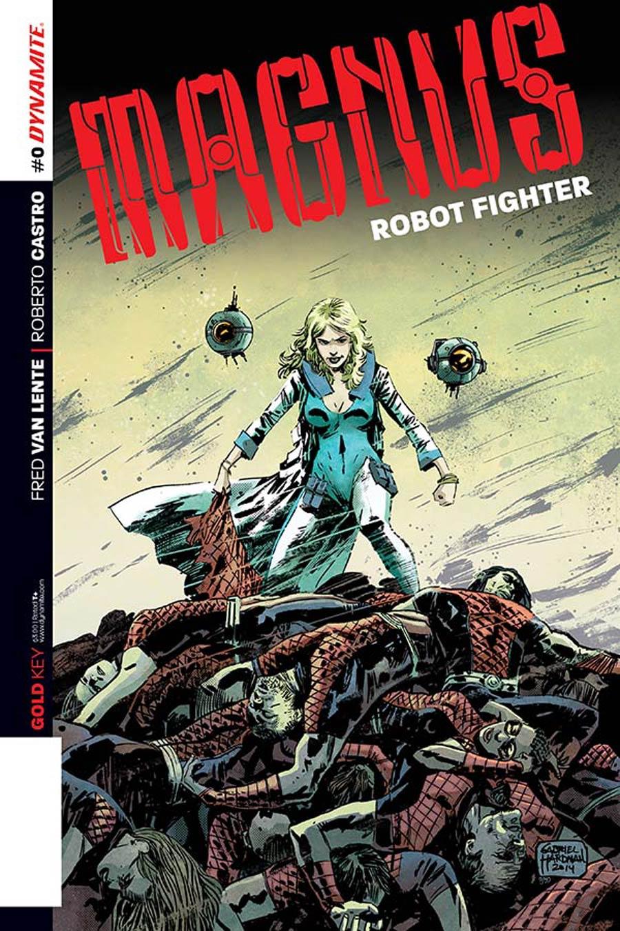 Magnus Robot Fighter Vol 4 #0 Cover A Regular Gabriel Hardman Cover