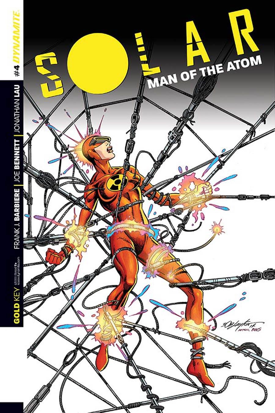 Solar Man Of The Atom Vol 2 #4 Cover B Variant Bob Layton Subscription Cover