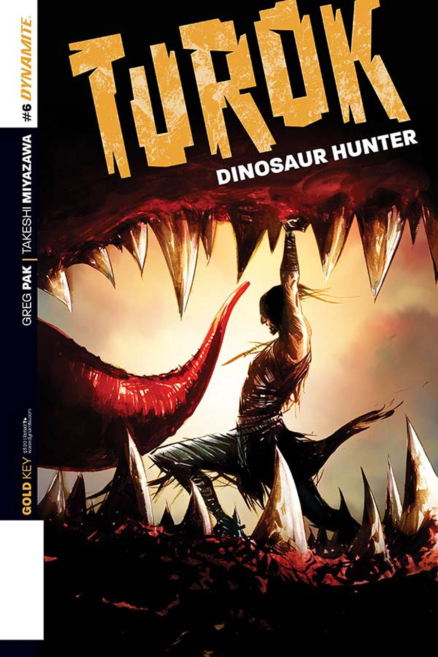 Turok Dinosaur Hunter Vol 2 #6 Cover B Variant Jae Lee Subscription Cover