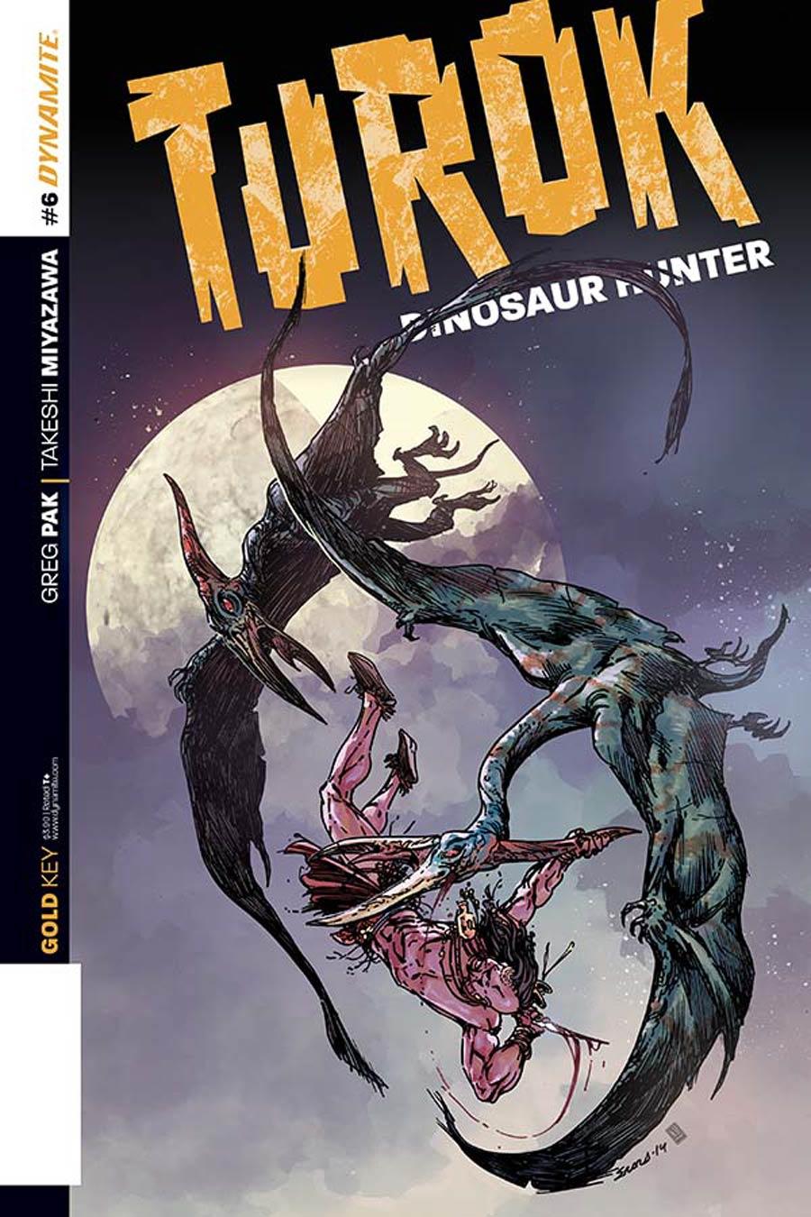 Turok Dinosaur Hunter Vol 2 #6 Cover A Regular Bart Sears Cover