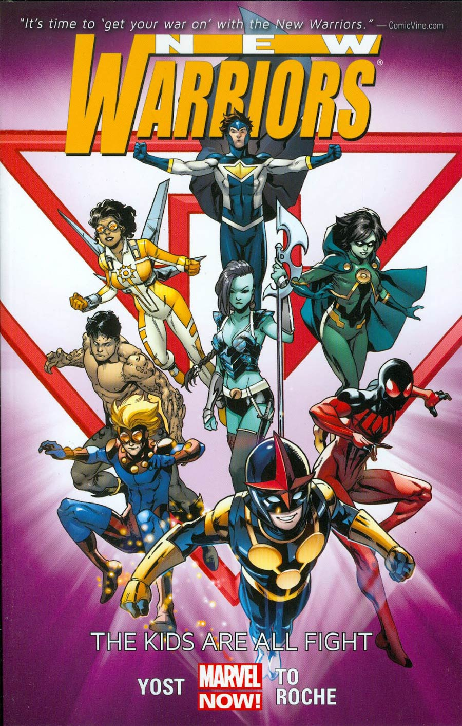 New Warriors Vol 1 Kids Are All Fight TP