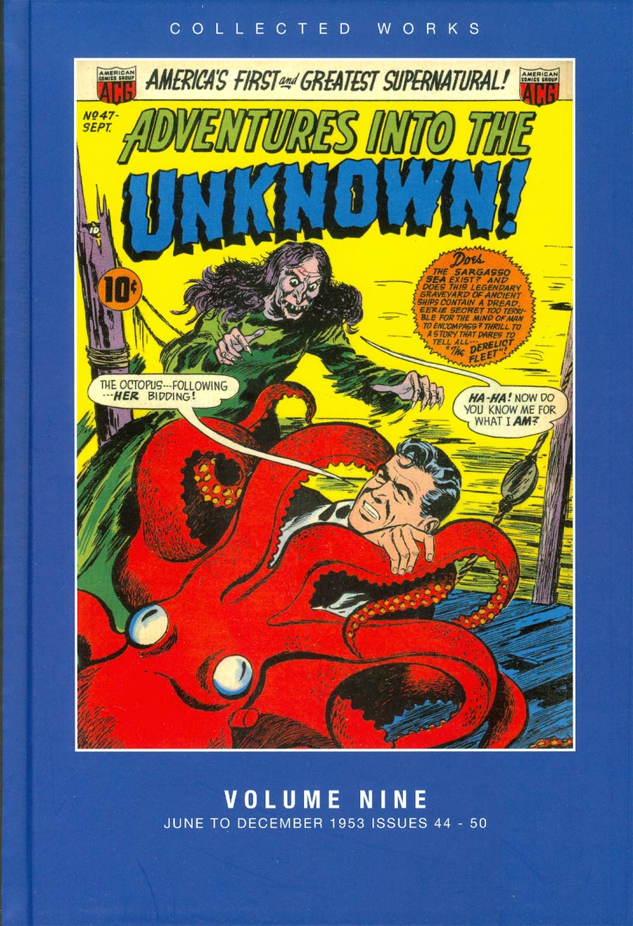 ACG Collected Works Adventures Into The Unknown Vol 9 HC