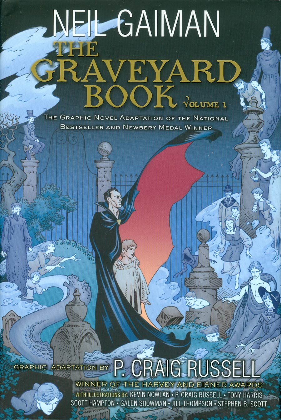 Graveyard Book The Graphic Novel Vol 1 HC