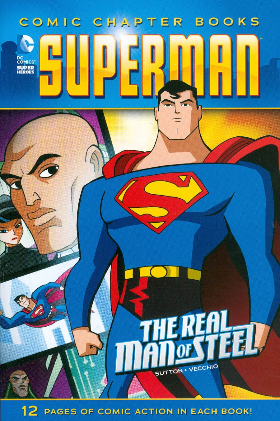 DC Comic Chapter Books Superman Real Man Of Steel TP