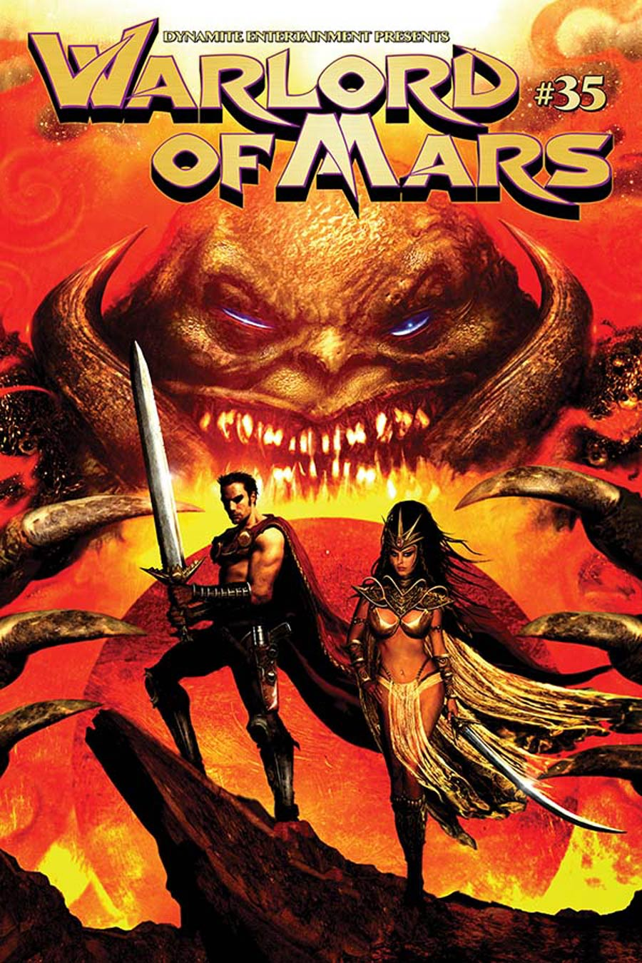 Warlord Of Mars #35 Cover A Regular Clint Langley Cover