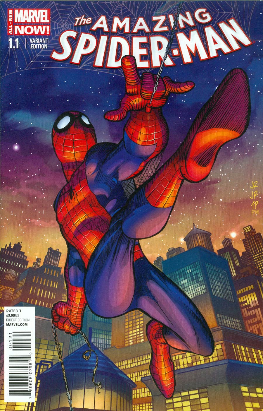 Amazing Spider-Man Vol 3 #1.1 Cover D Incentive John Romita Jr Variant Cover