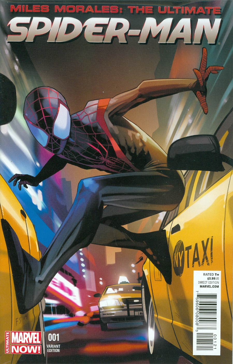 Miles Morales Ultimate Spider-Man #1 Cover C Incentive Fiona Staples Variant Cover