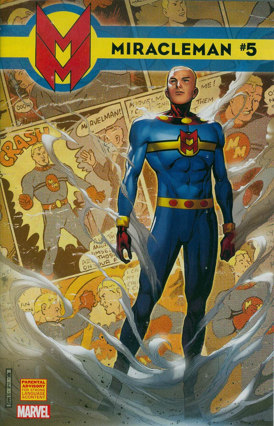 Miracleman (Marvel) #5 Cover C Incentive Jim Cheung Variant Cover